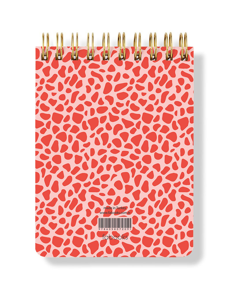 Dainty Spiral Notepad - Hardcover, Plain pages