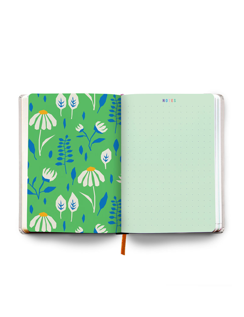 Orange Undated Planner