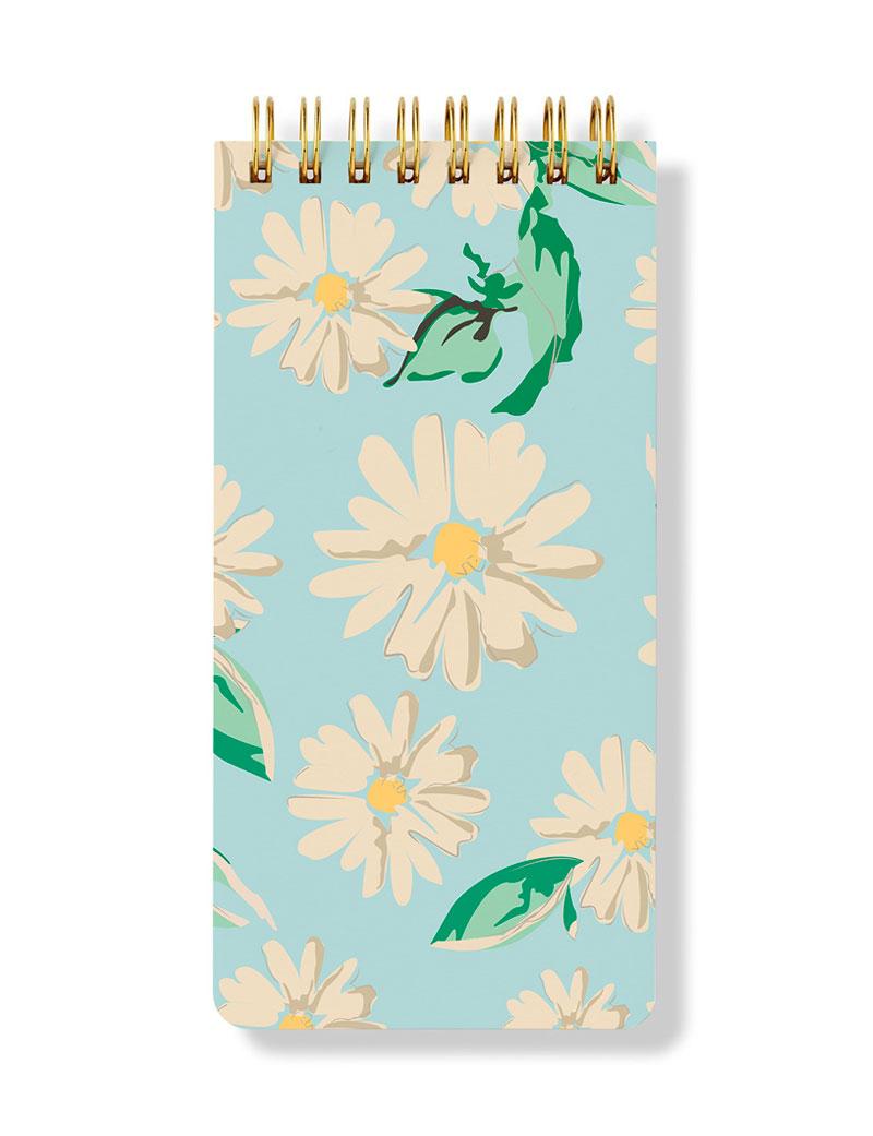 Daisies Spiral Notepad