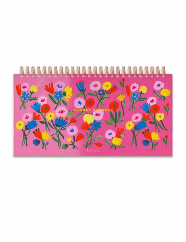 Pink Weekly Planner