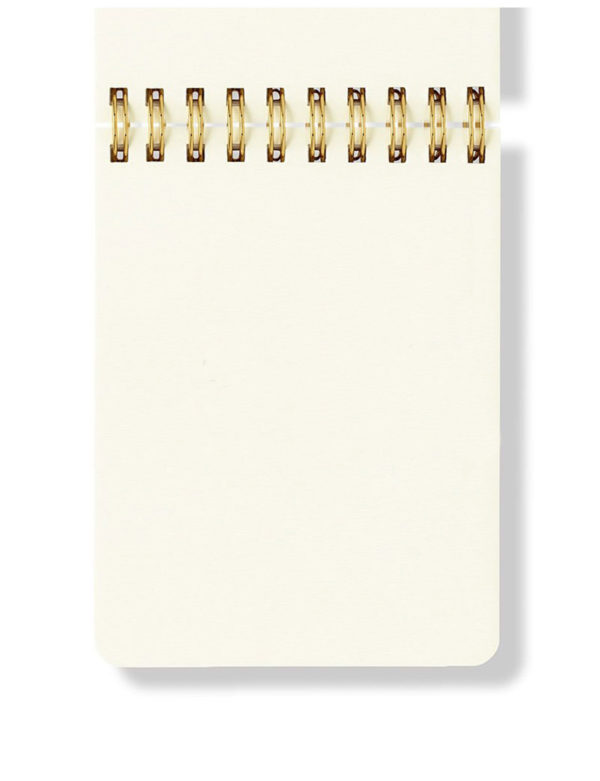 Spiral Notepad - Hardcover, Plain