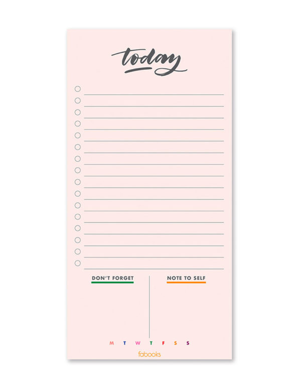 Today Daily Planner Notepad, Daily Schedule, To-Do List