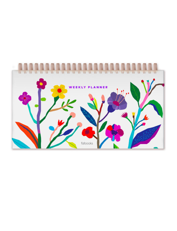 White Weekly Planner