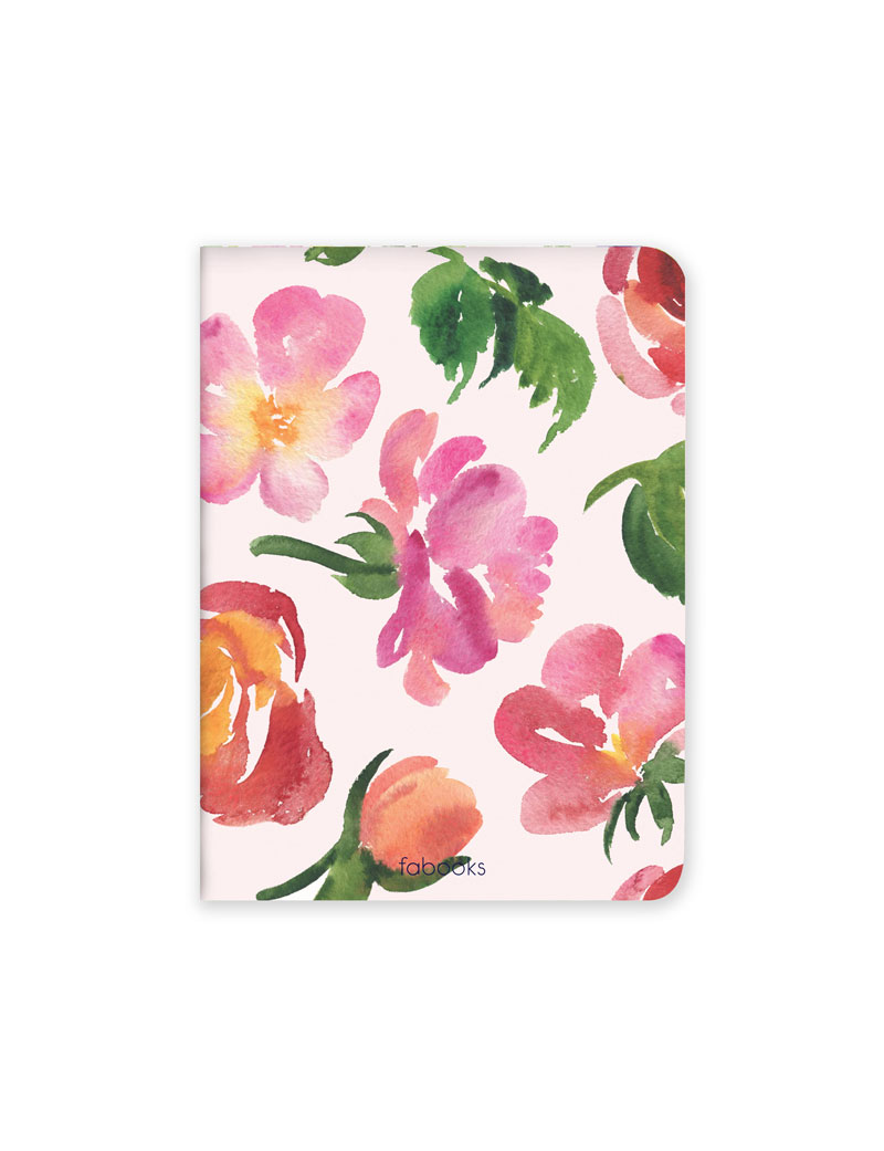 Spring Flowers Set of 3 Notebooks