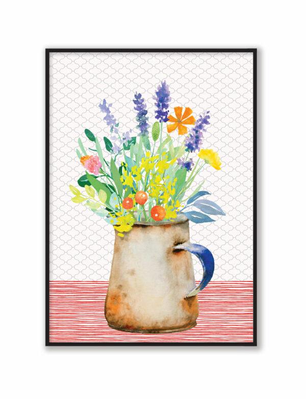 Spring Flowers / Wildflowers Art Print