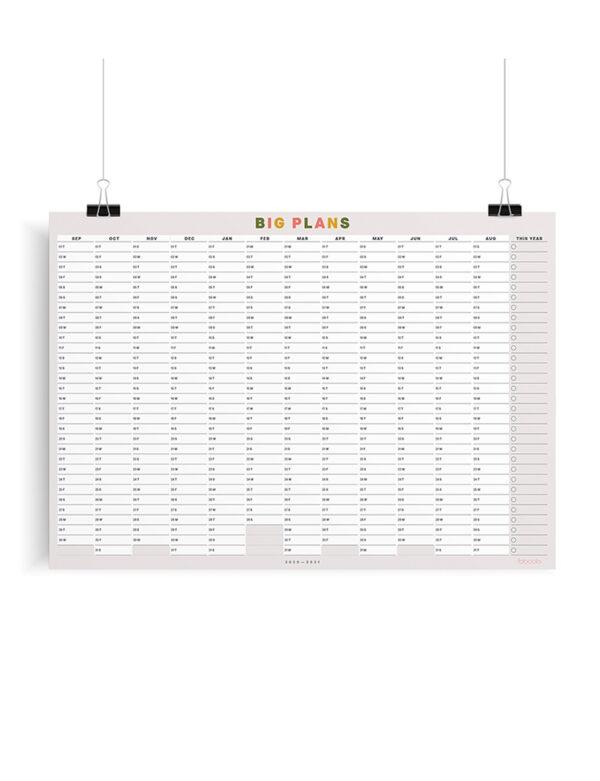 Big Plans Calendar
