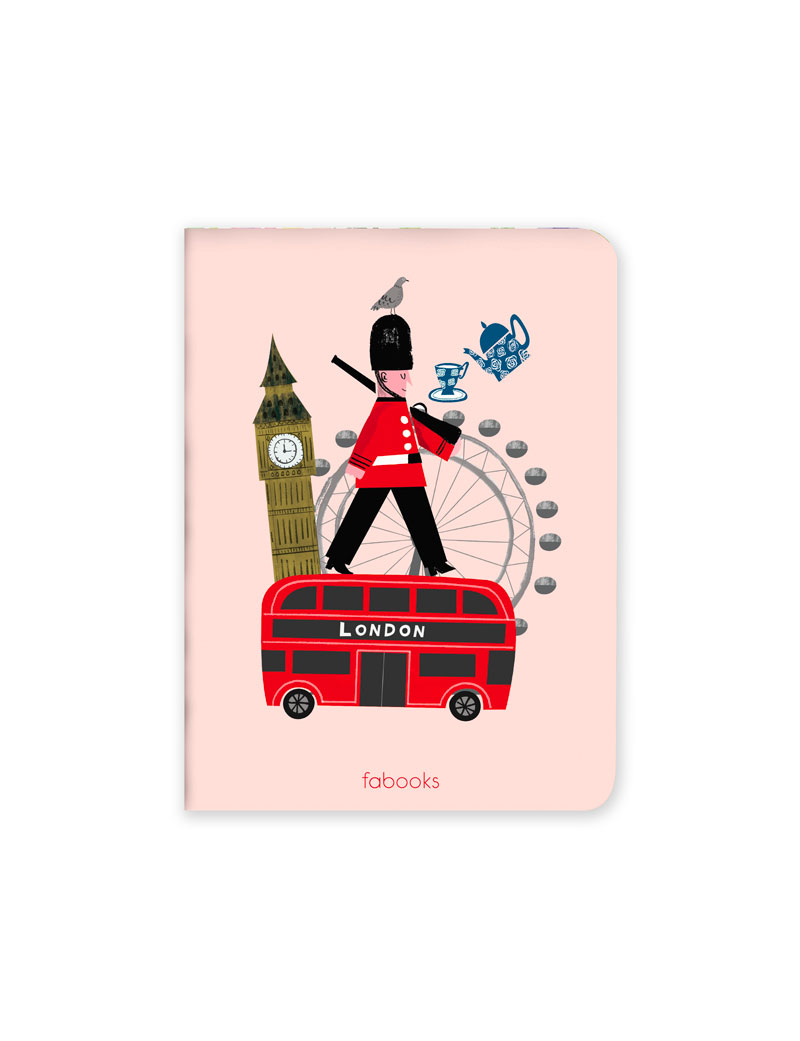 London Set of 3 Notebooks