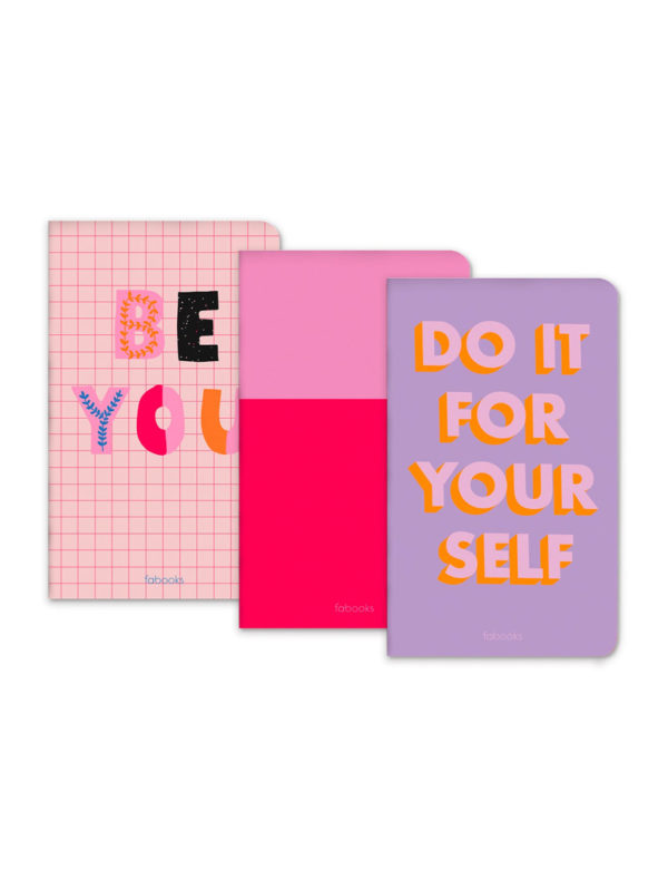 Motivational Set of 3 Notebooks