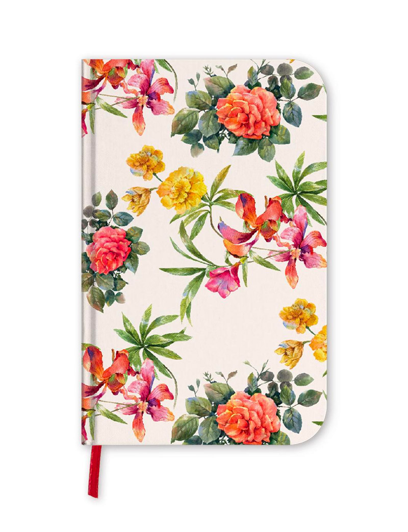 One Line A Day 5 Year Journal - Floral, Undated & Lined Diary