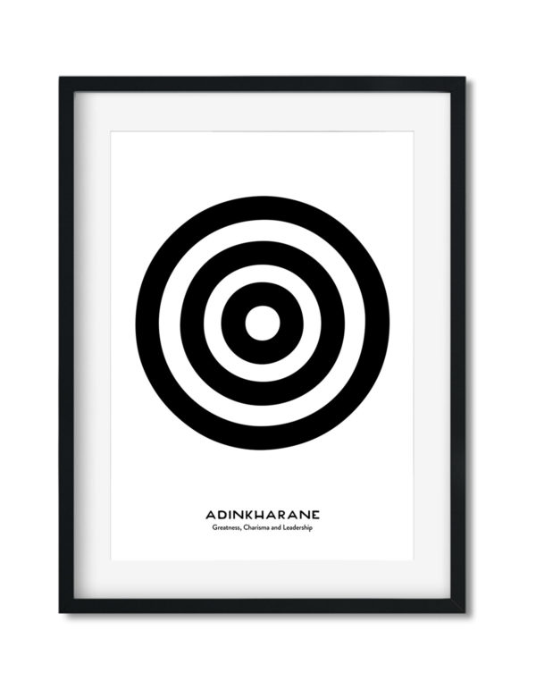 Adinkrahene, Adinkra Symbol, African Art Print