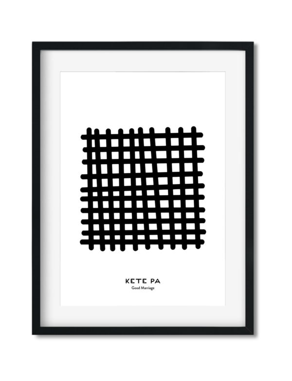 Kete Pa, Adinkra Symbol, African Art Print