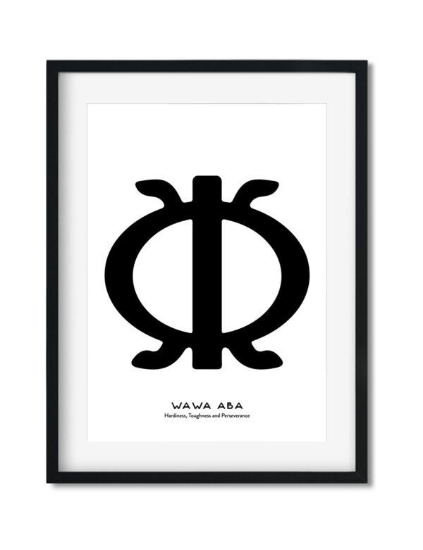 Wawa Aba, Adinkra Symbol, African Art Print