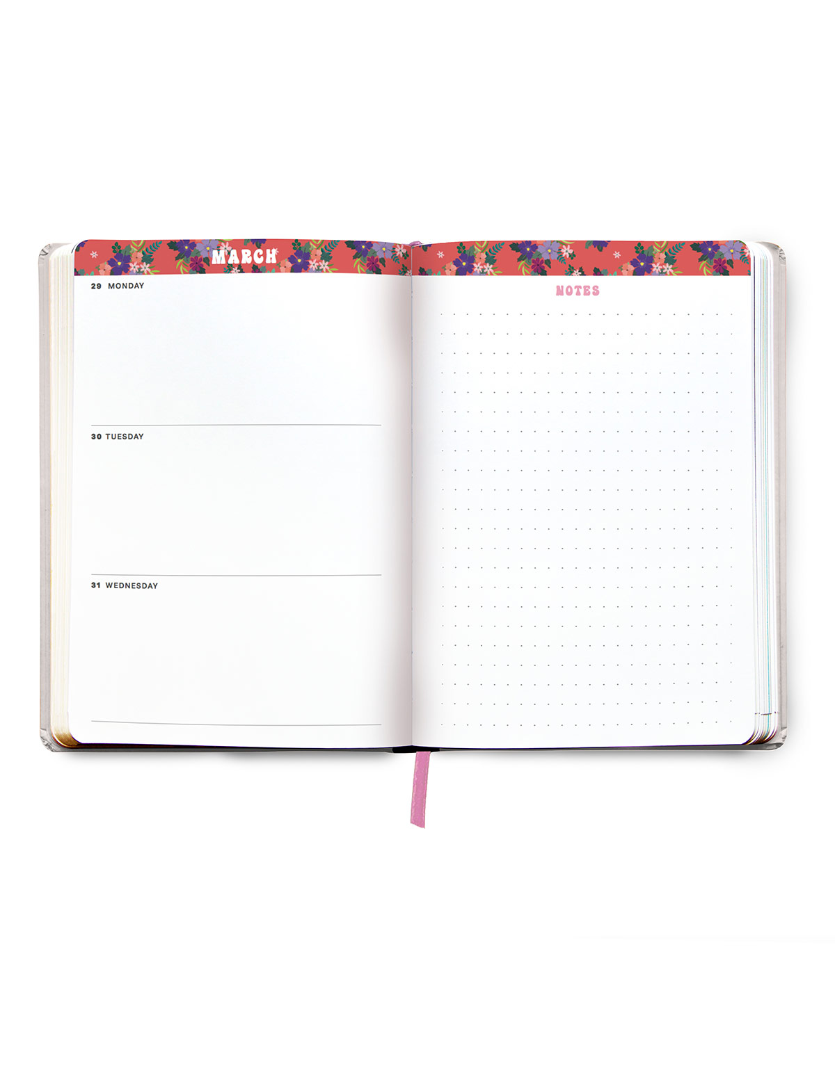 Just A Girl Boss Building Her Empire 2021 Agenda - Monthly Planner