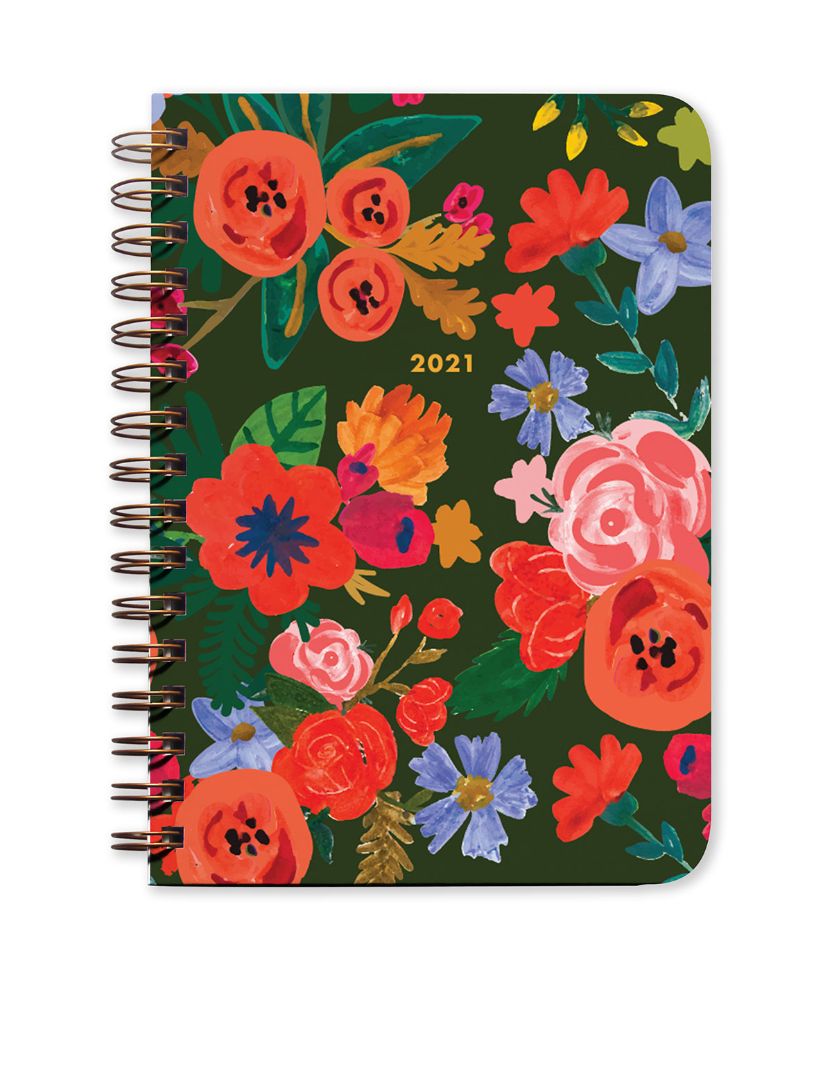 Mountain Flowers 2021 Agenda - Monthly Planner