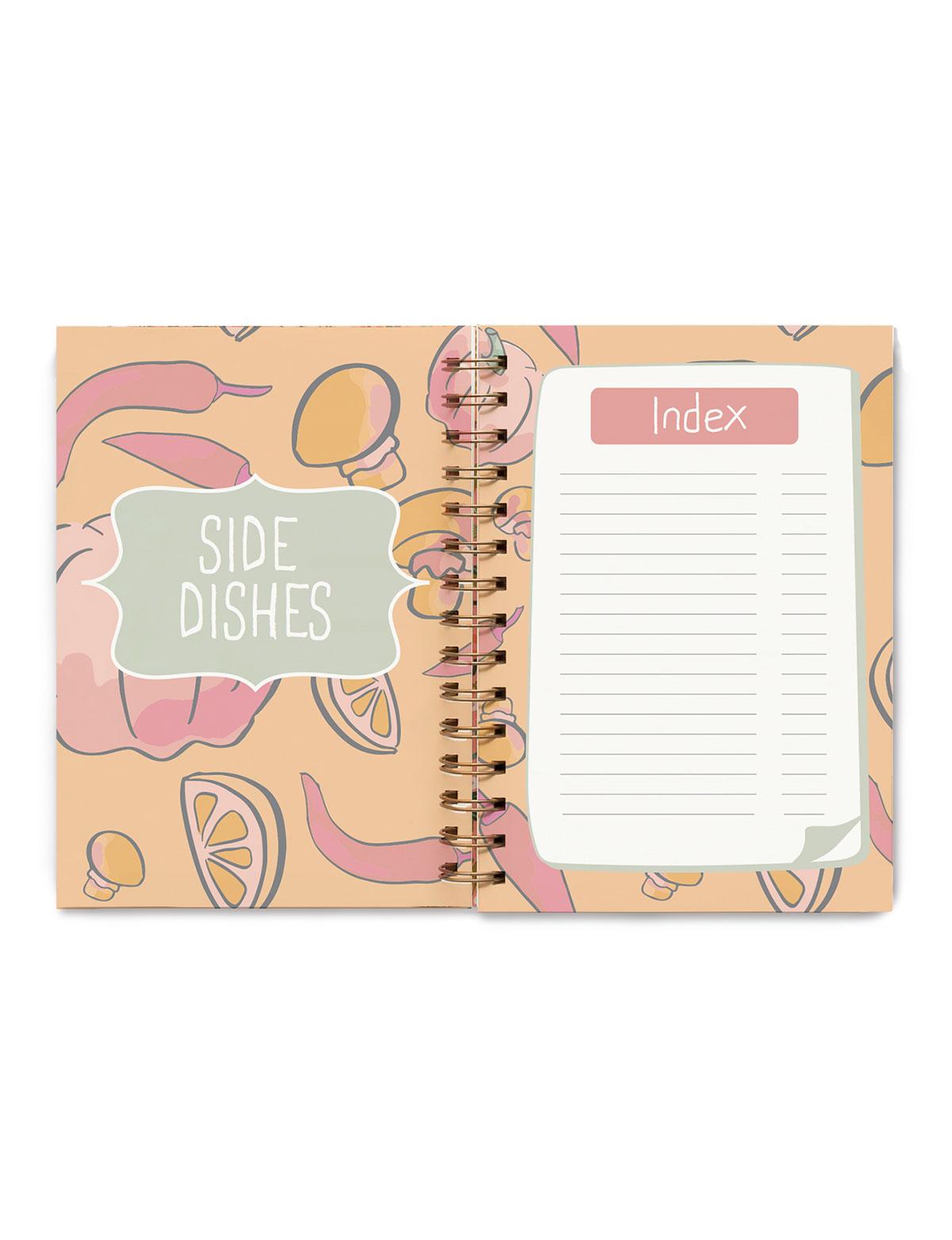 Blank Recipe Book, Journal, Notebook