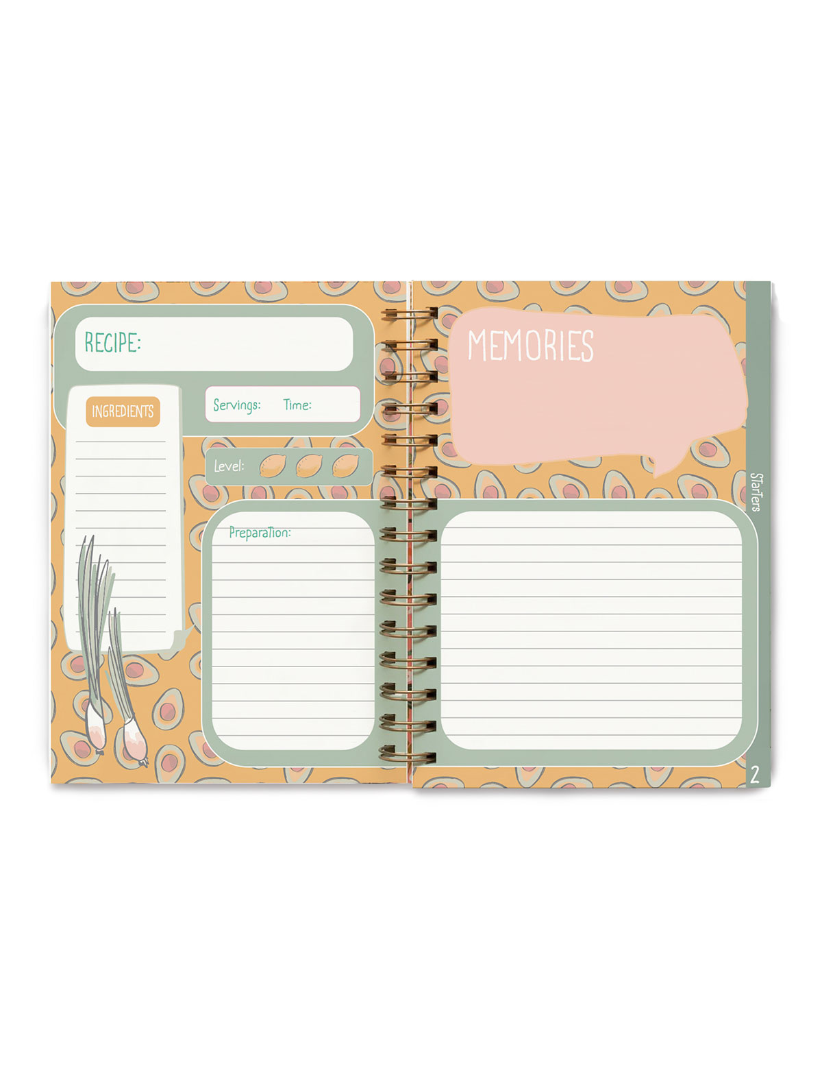 Blank Recipe Book, Journal, Notebook
