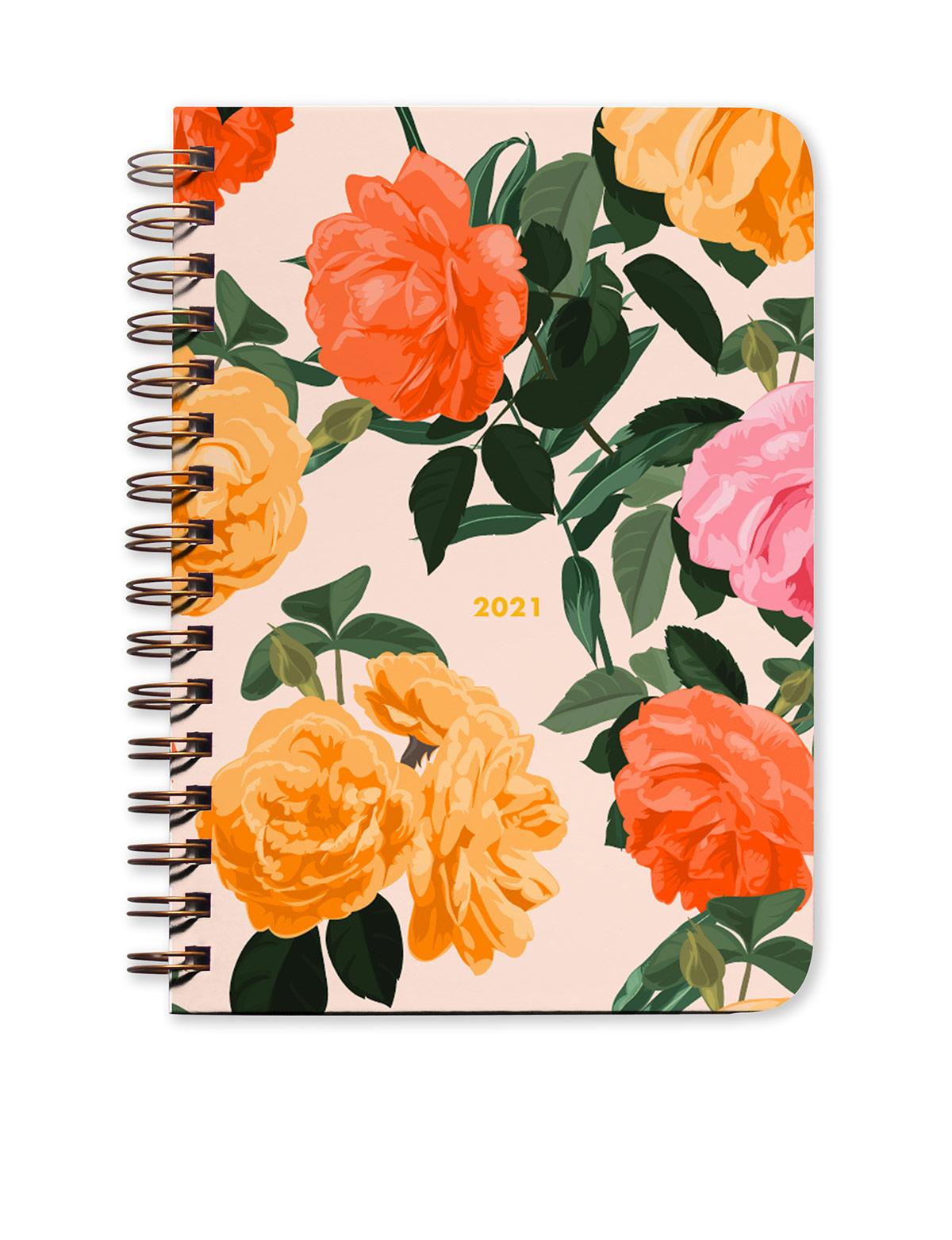 Rose Garden 2021 Agenda - Monthly Planner