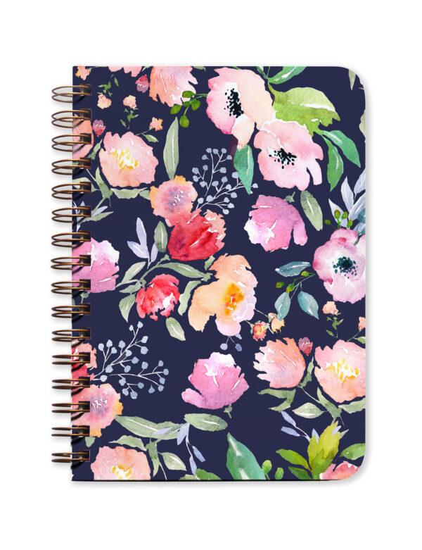 Floral Undated Planner