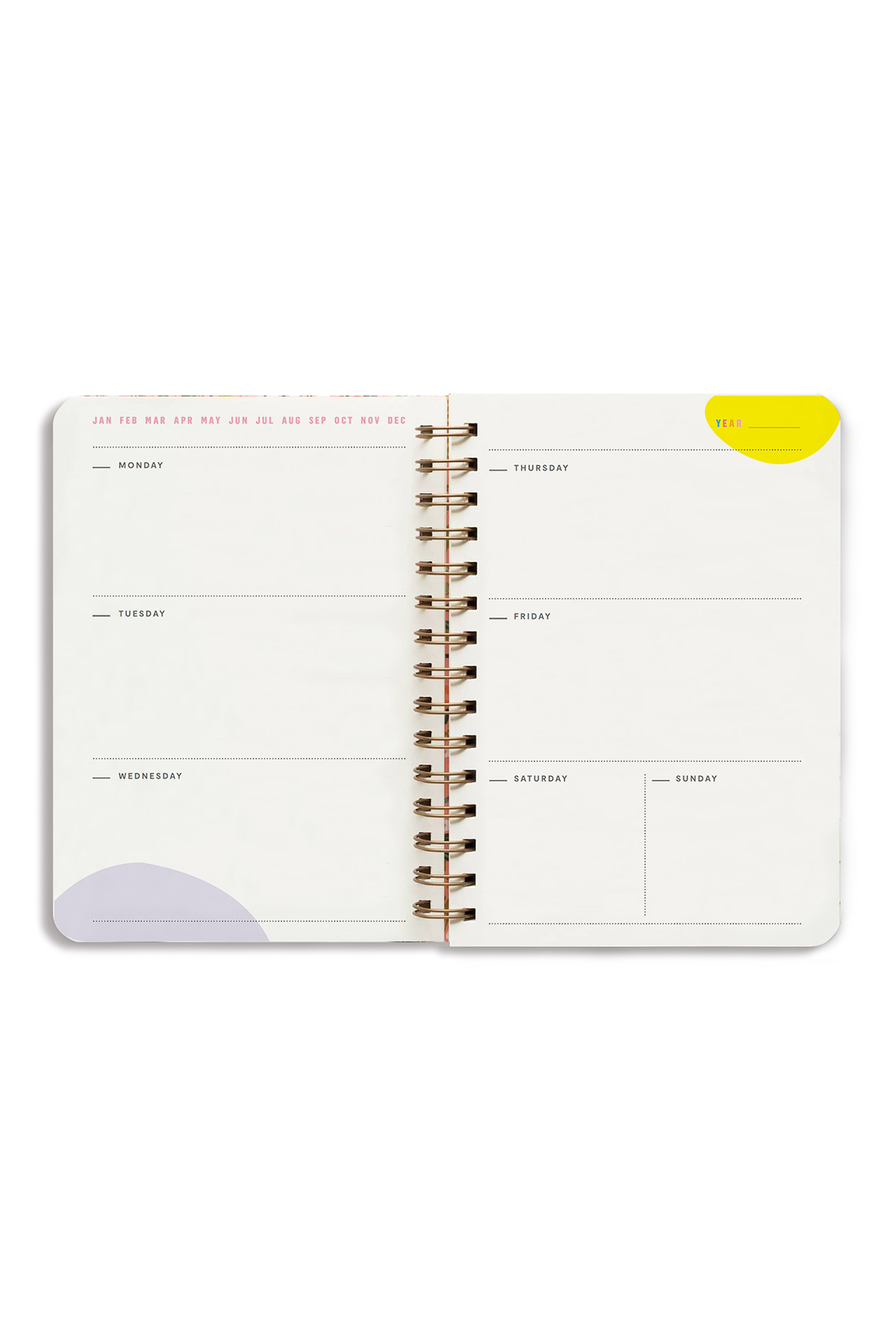 Undated Planner Inner Pages