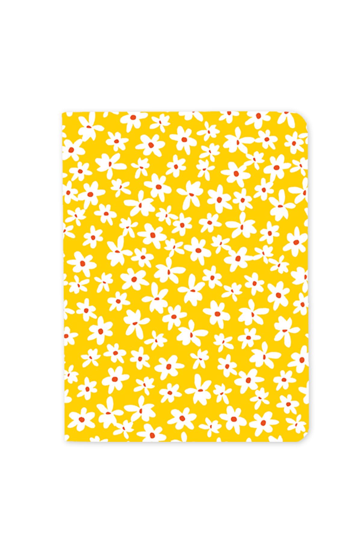 Mini Floral Set of 3 Notebooks