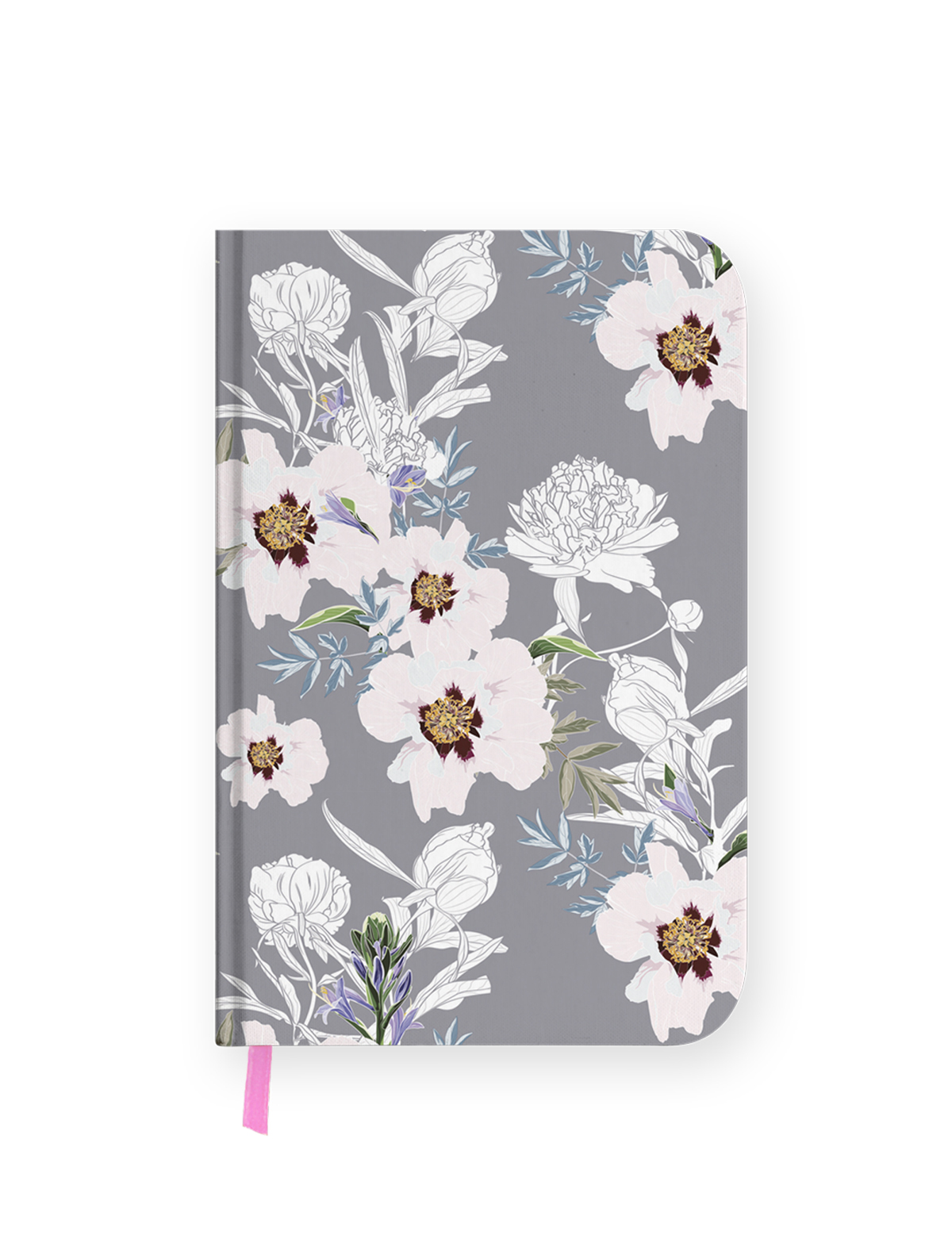 One Line A Day – Flowery Undated Journal