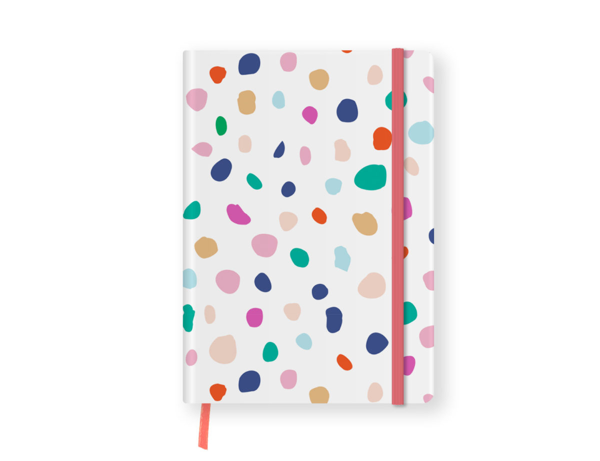 Colourful Dotted Undated Planner
