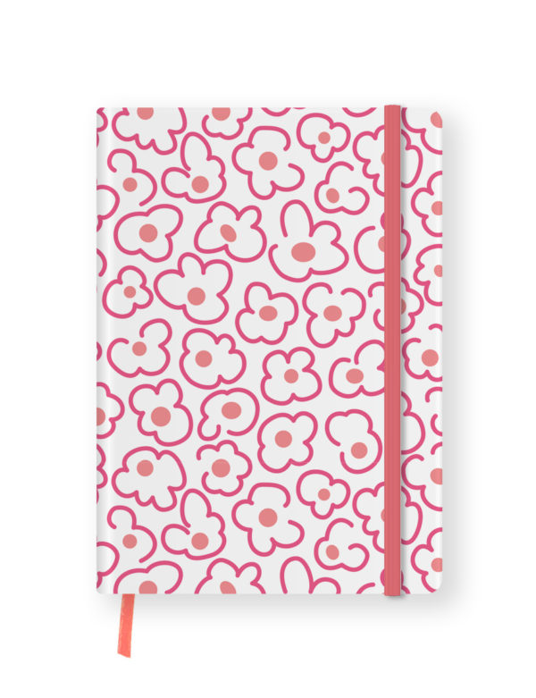 Pink Floral Undated Planner