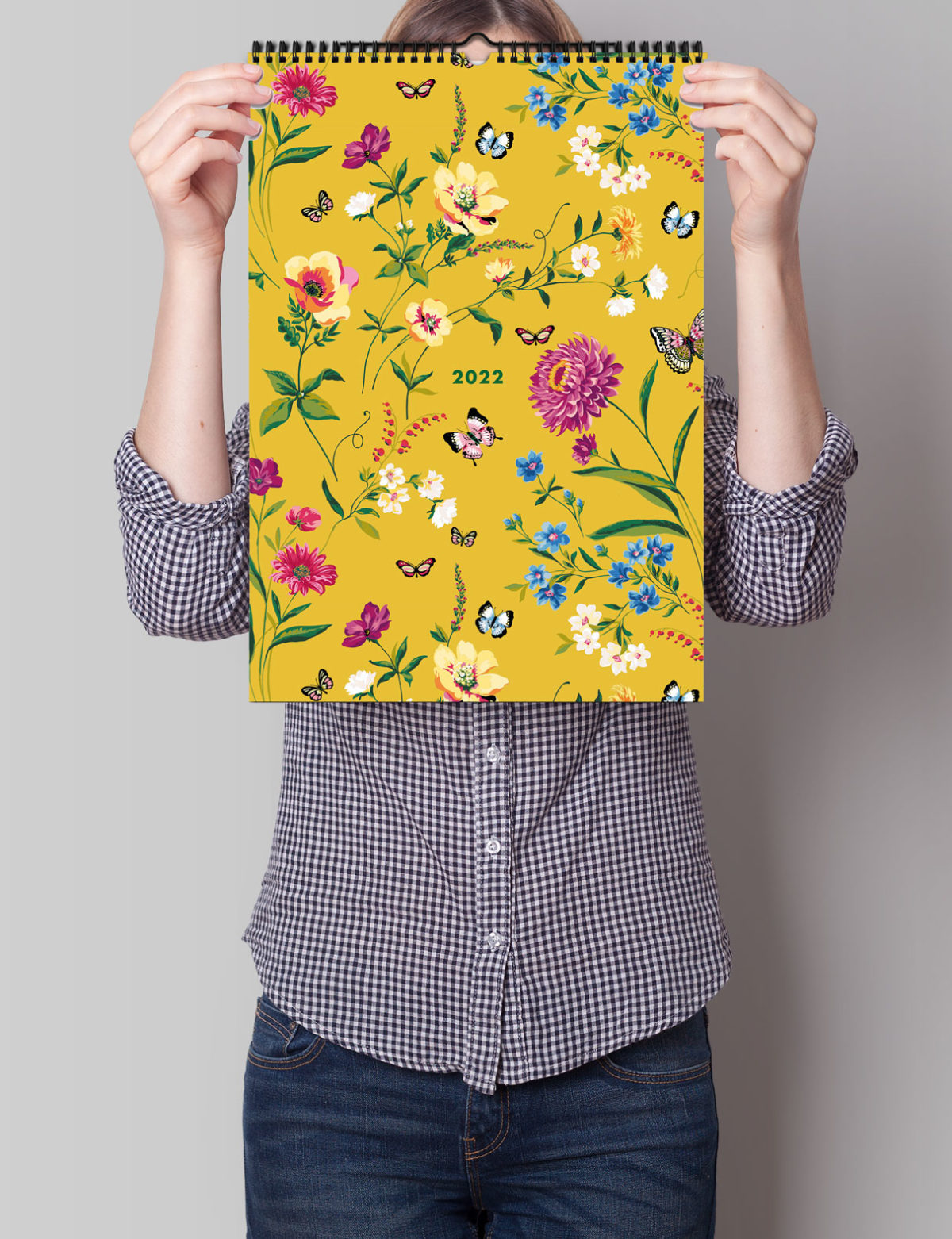 Floral 2022 Family Wall Calendar